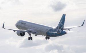 Air Transat receives first A321LR