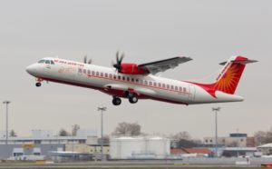 1st ATR 72-600 in Alliance Air's fleet, and 1st Line Training in New Delhi for Magellan !